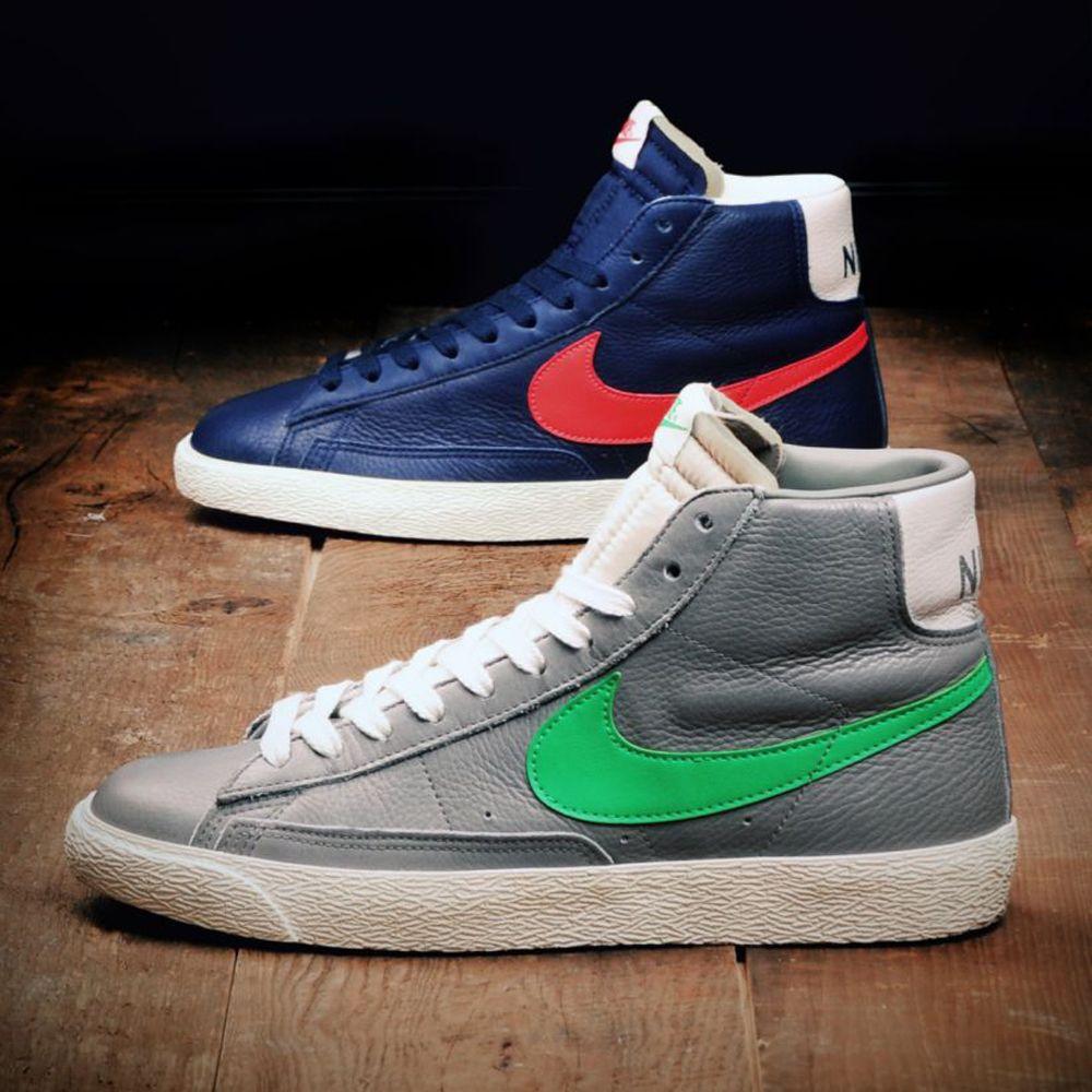 Stussy Nike Blazer Mid Lateral Side Both