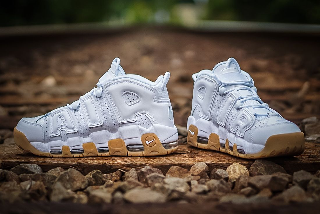Nike Air More Uptempo ' White Gum'