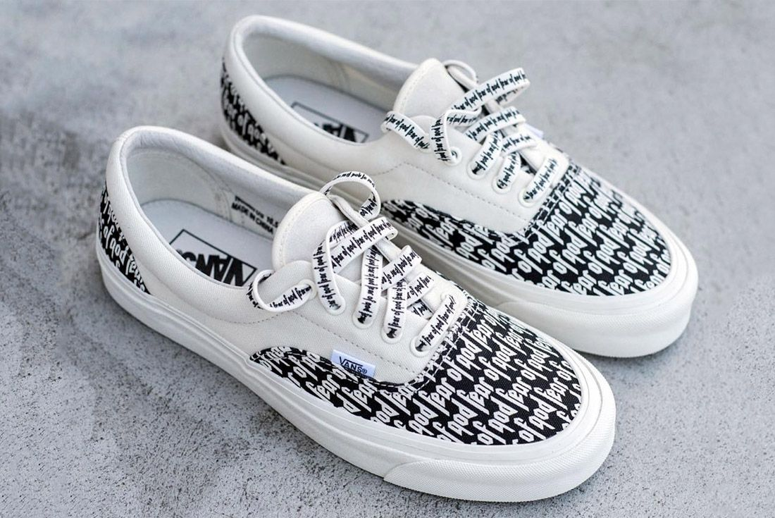 Fear Of God X Vans 2017 6