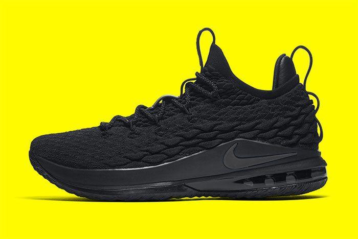 Nike Le Bron 15 Black 3