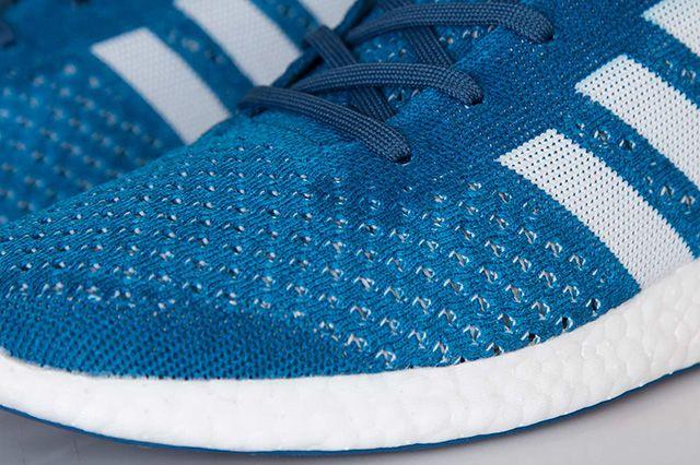 Adidas Primeknit Pureboost Solar Blue 5