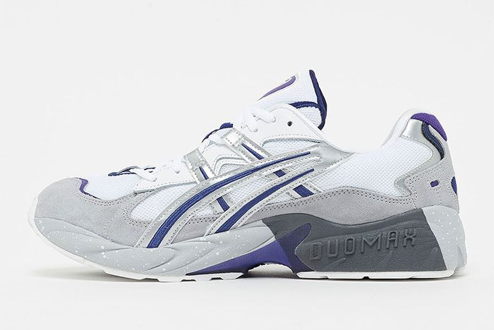 Asics Gel Kayano 5 Court Purple Left