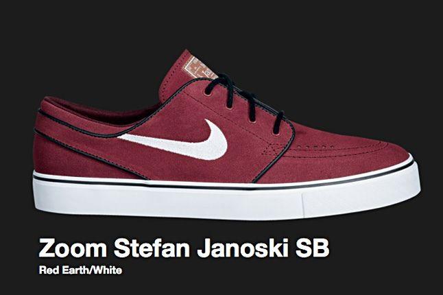 Nike Red Earth Sb Zoom Stefan Janoski 2009 1