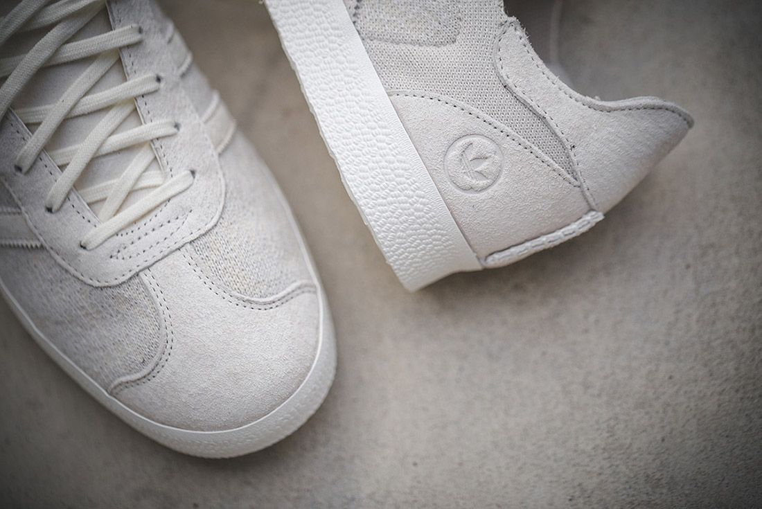 Wings And Horns Adidas Gazelle Off White 2