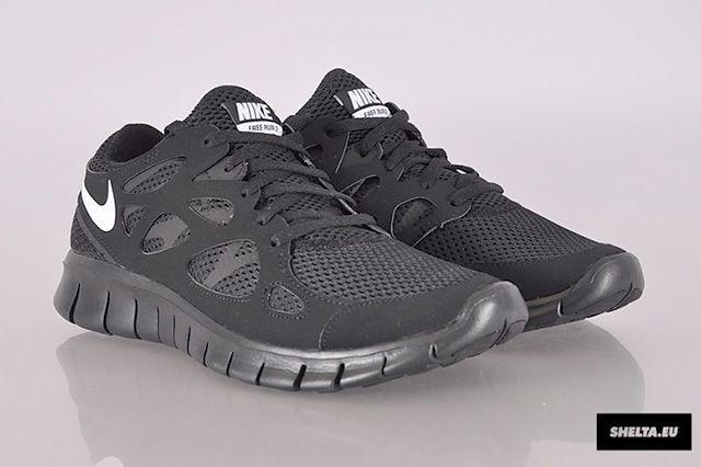 Nike Free Run 2 Blackout 7
