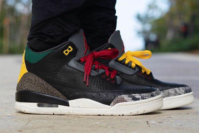 Air Jordan 3 Animal Instinct 2 0 On Feet 1