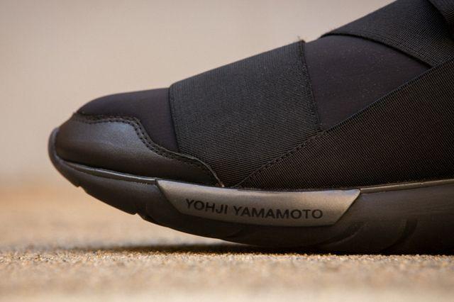Adidas Y 3 Qasa High All Black 2