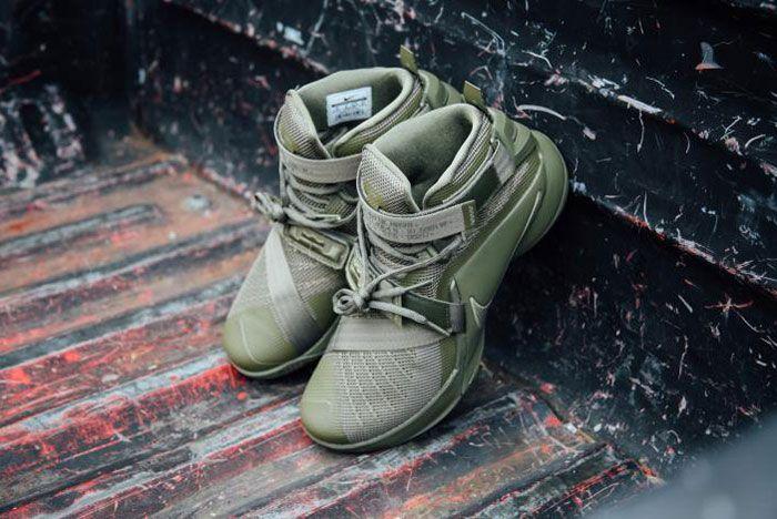 Nike Lebron Zoom Soldie 9 Olive 5