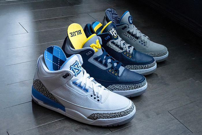 Air Jordan 3 College Pe Set Sneaker Freaker