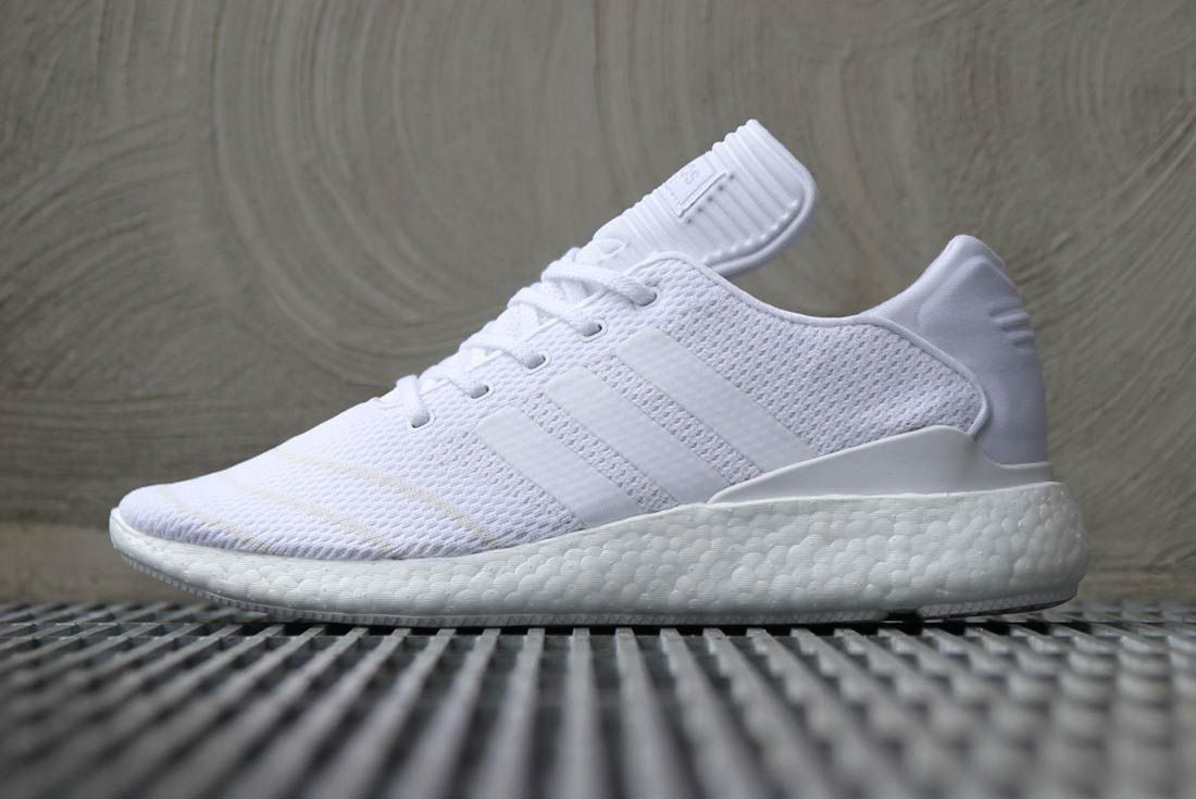 Adidas Busenitz Pure Boost Triple White 4
