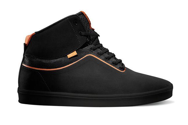 Vans Lxvi Stat0 Black Orange 1