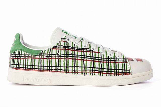 Pharrell Williams Hand Painted Adidas Originals Stan Smith 6