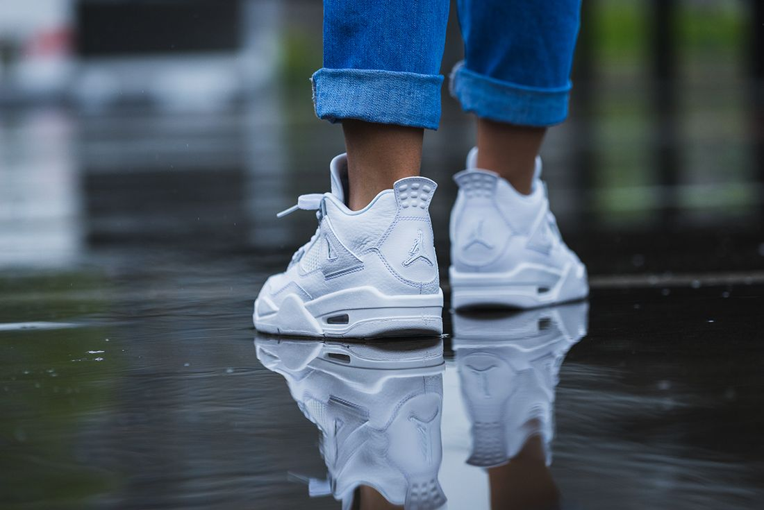 Up Close With The Air Jordan 4 Pure Money6