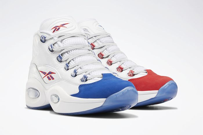 Reebok Question Mid Double Cross Release Date Pair