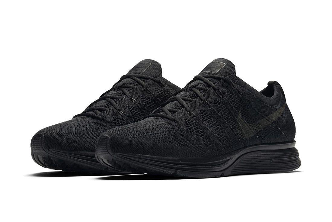 Nike Flyknit Trainer Blackanthraciteblack 5