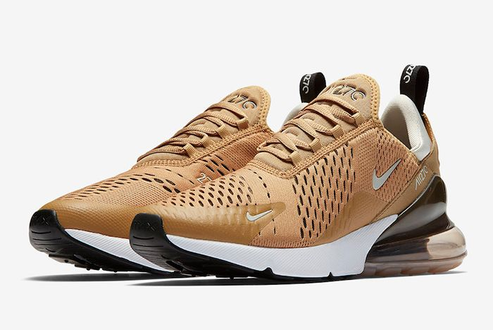 Nike Air Max 270 Elemental Gold Ah8050 700 Sneaker Freaker