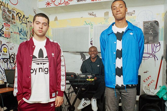 Adidas Originals By Nigo 2014 Fall Winter Lookbook Featuring Ratking 1