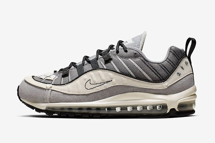 Nike Air Max 98 Inside Out Grey Left