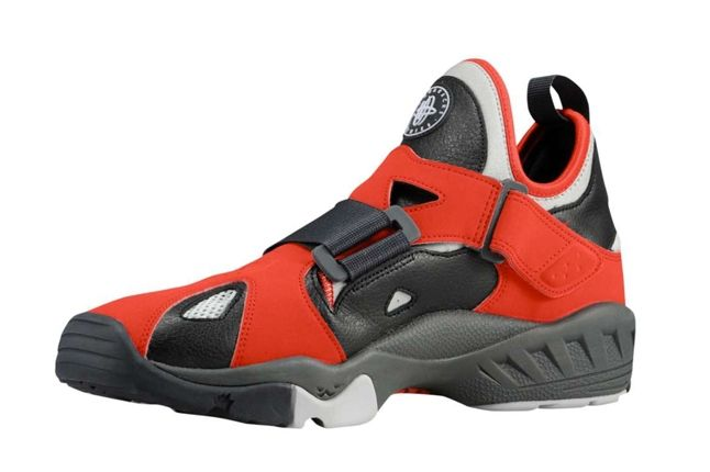Nike Air Huarache Trainer 94 Red Inside Profile 1