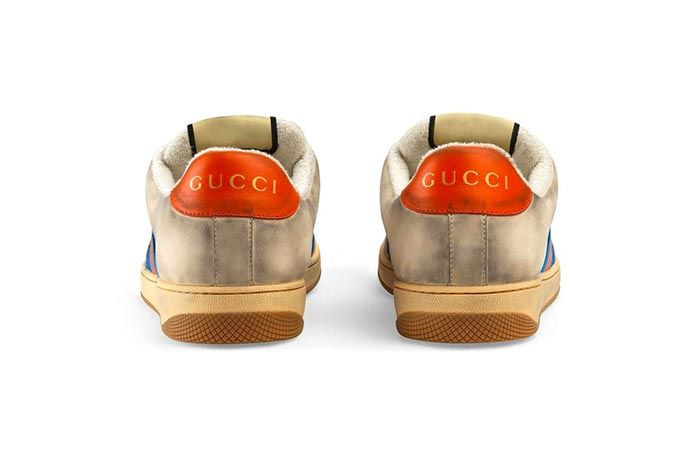 Gucci Distressed Sneakers Gg Canvas Release 3