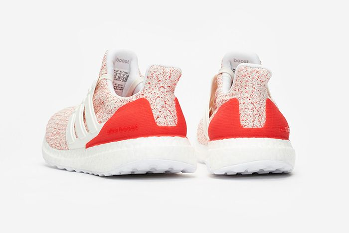 Adidas Ultraboost 4 0 W White Red 4