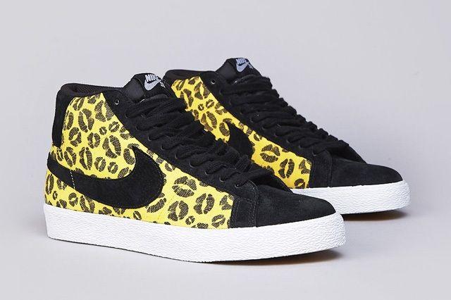 Nike Sb Blazer Midwest Gold Black 5