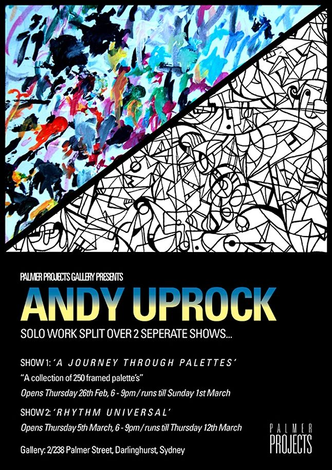 Andy Uprock Solo Show 1