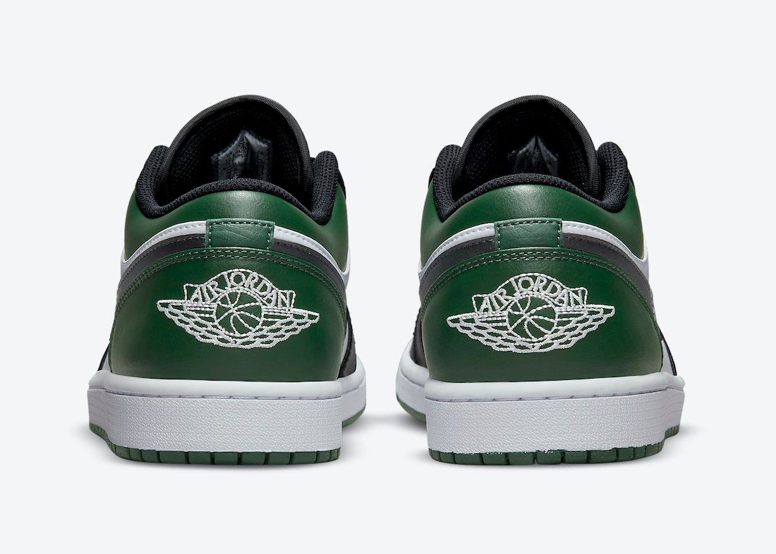 Air-Jordan-1-Low-Green-Toe-