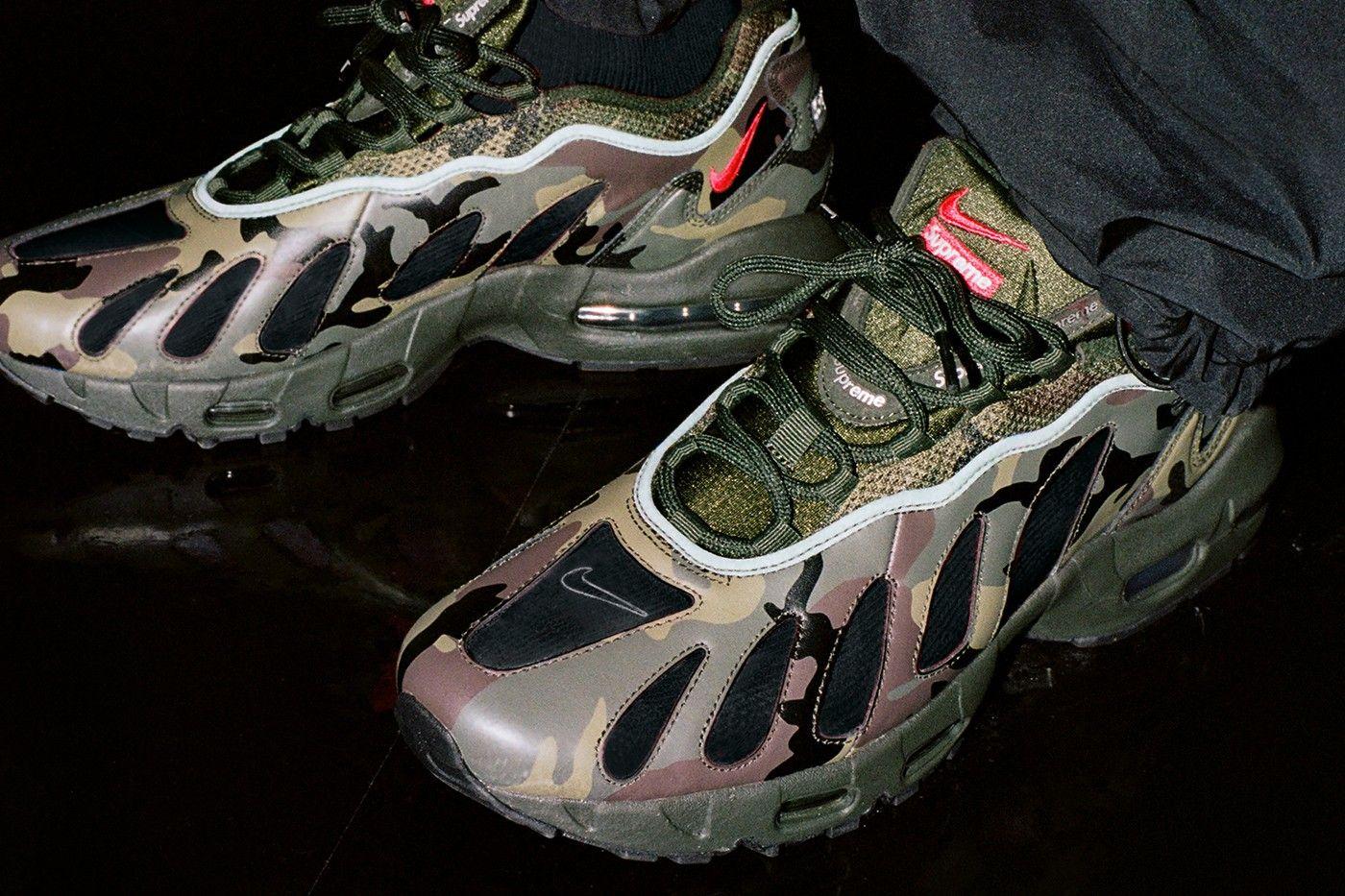 Supreme x Nike Air Max 96 official pics