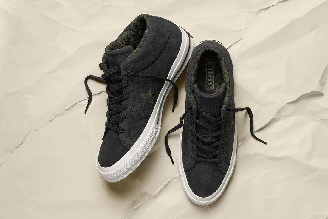 Sp18 Os Mid Camo Multi Black 159747 C 2 77031 Converse One Star Sneaker Freaker