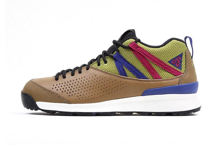 Nike Acg Okwahn Ii Golden Beige Deep Royal Blue True Berry 525367 201 Release Date Lateral