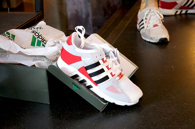 Adidas Eqt And Snkr Frkr Montana Cans Launch At Overkill Recap 10