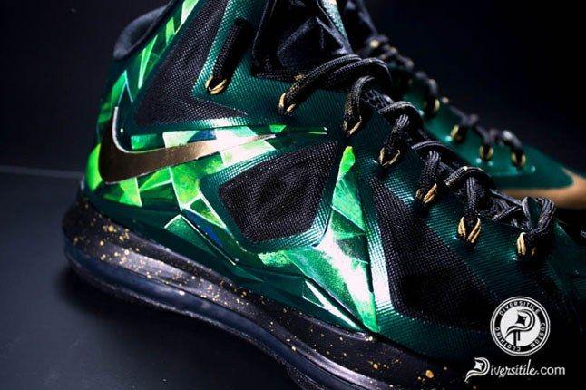 Lebron Emerald Diversitile Custom Upper 1
