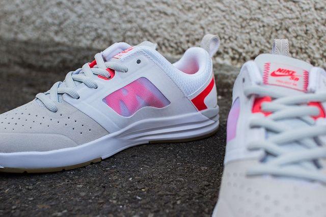 Nike Sb Project Ba Beige Laser Crimson 4