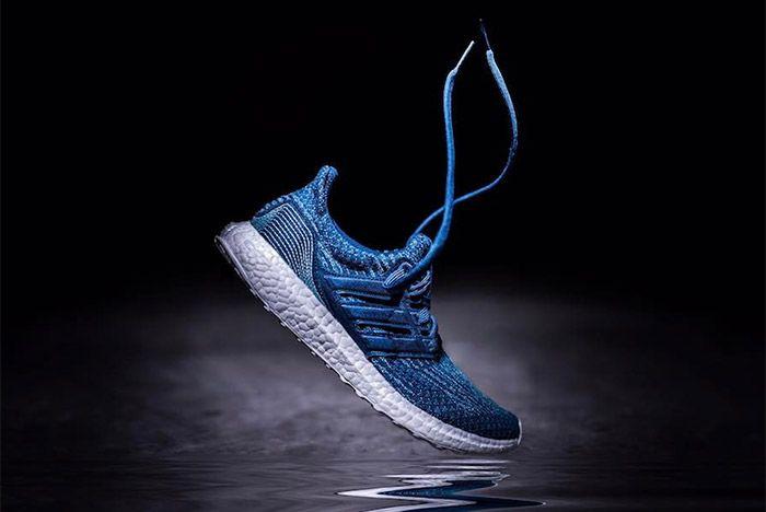Parley Adidas Ultra Boost 3 0 Blue 1