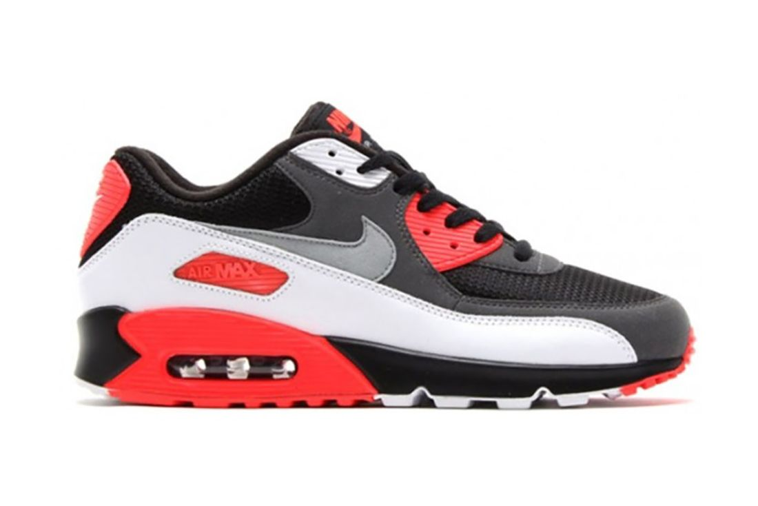 Nike Air Max 90 Reverse Infrared 725233 006 Lateral