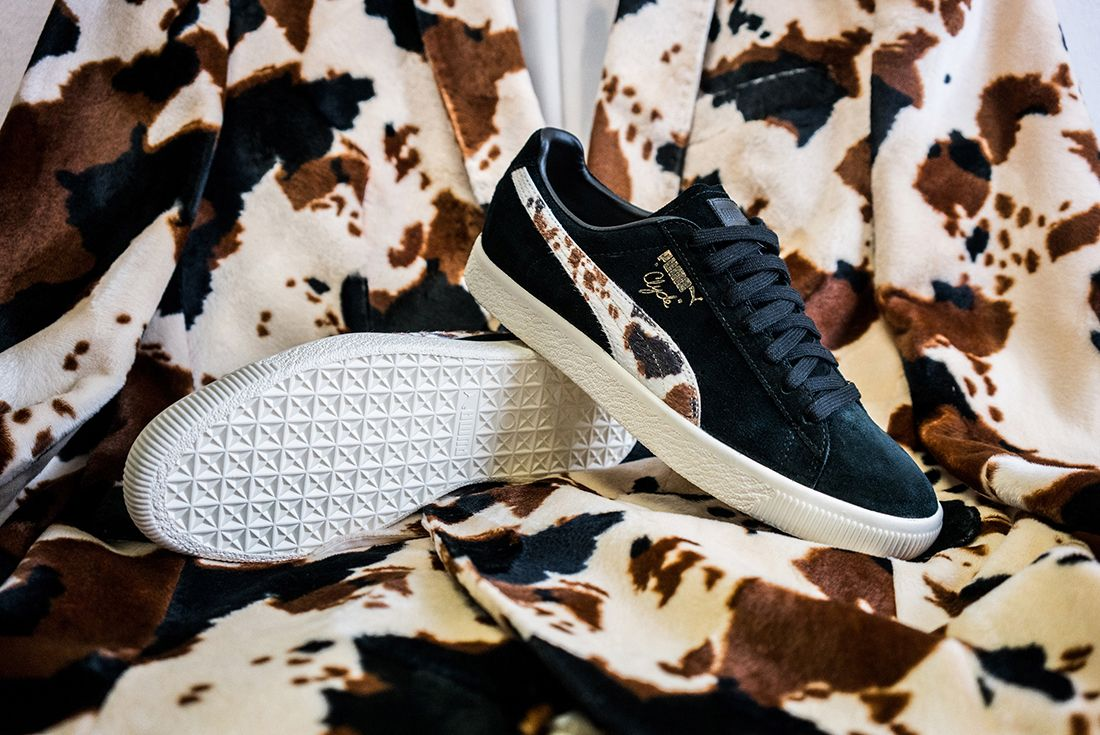 Packer X Puma Clyde Cow Suits Pack12