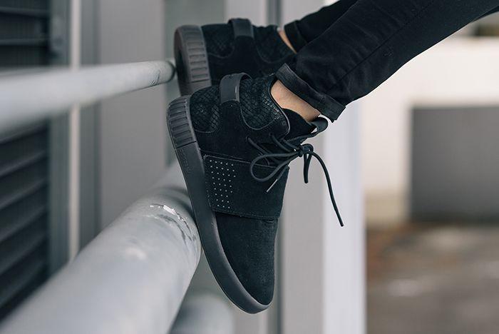 Adidas Tubular Invader Black 3