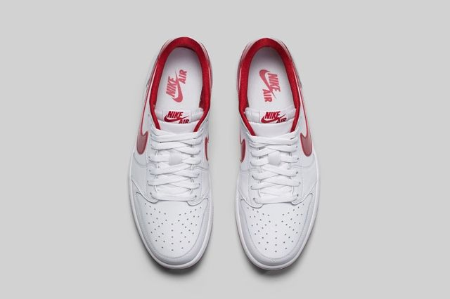 Air Jordan 1 Low Og Varsity Red 4