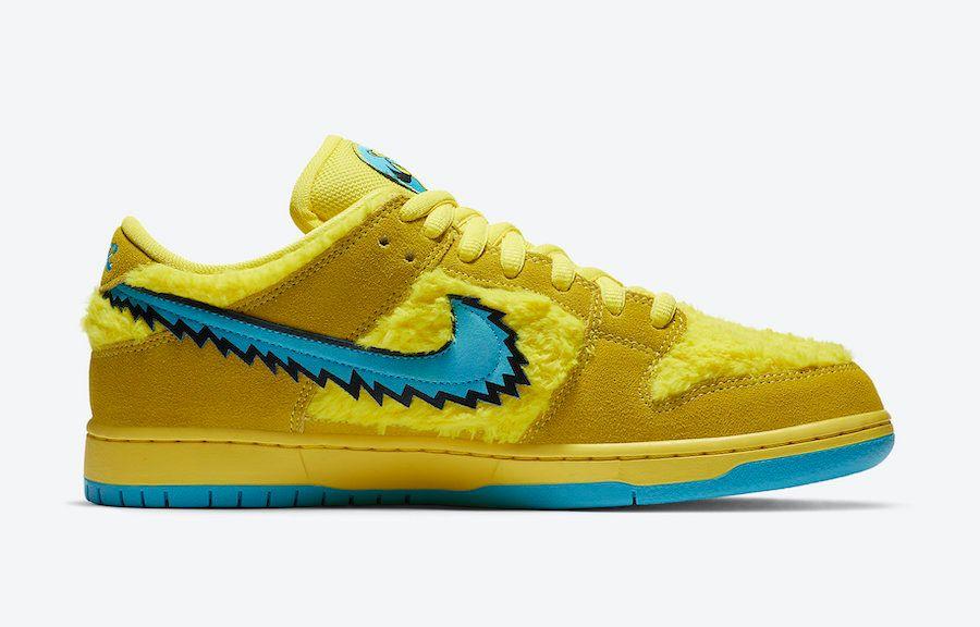 Grateful Dead x Nike SB Dunk Low (Yellow)