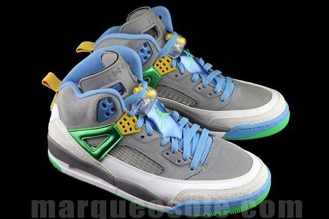 Jordan Spizike Cool Green Lateral Pair 1