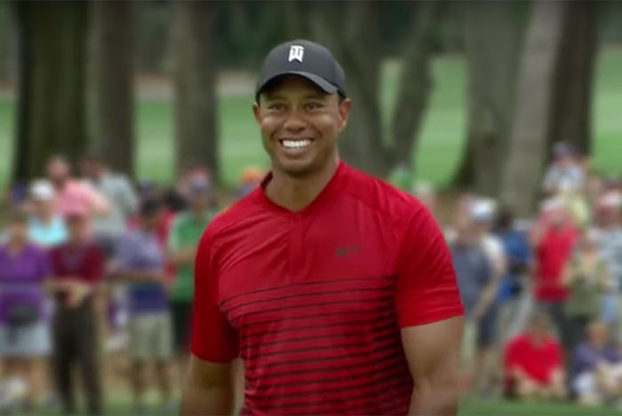 Tiger Woods Welcome Back