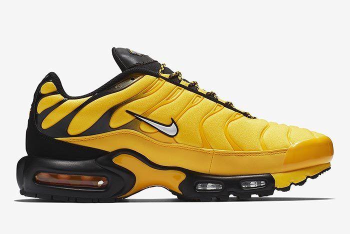 Nike Air Max Plus Yellow 3