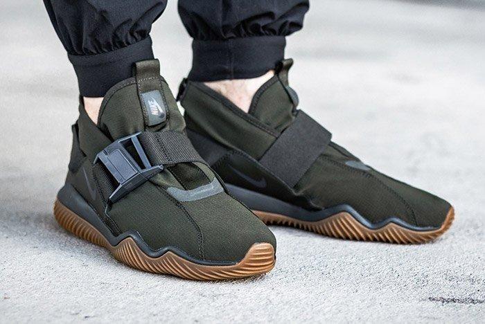 Nike 07 Kmtr Komyter Sequoia Green Gum 2