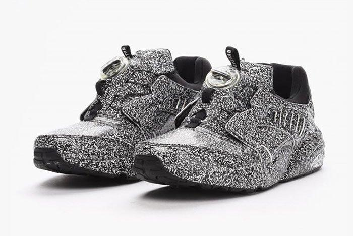 Puma Disc Blaze White Noise 1