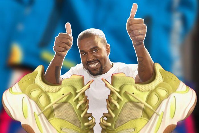 Kanye Wave Runner 700 Semi Frozen Yellow 1