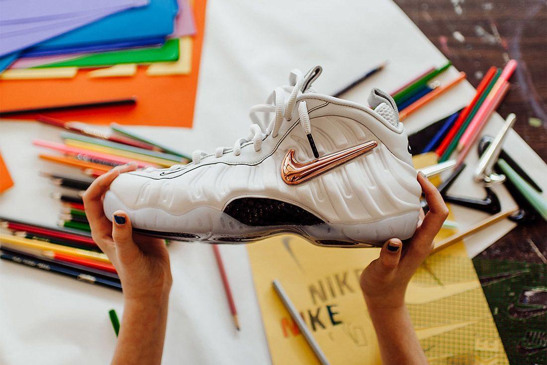Nike Air Foamposite Pro All Star Interchangeable Swoosh Sneaker Freaker 2