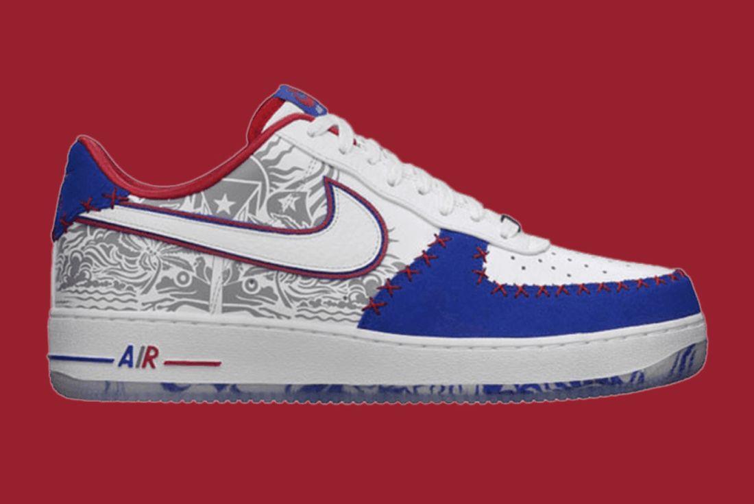 Nike Air Force 1 Puerto Rico