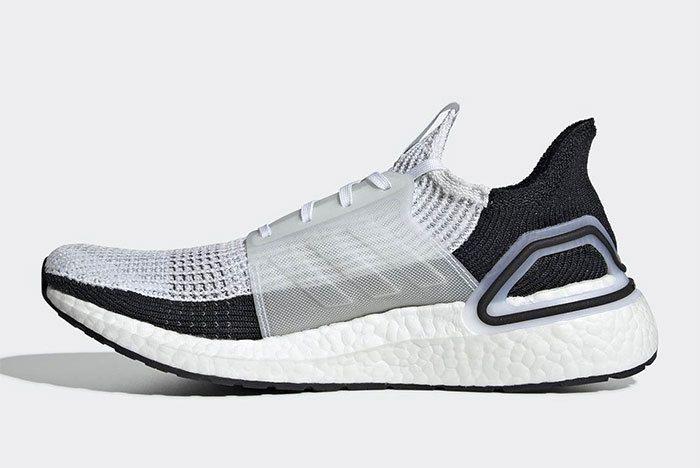 Adidas Ultra Boost 2019 Black White B37707 6