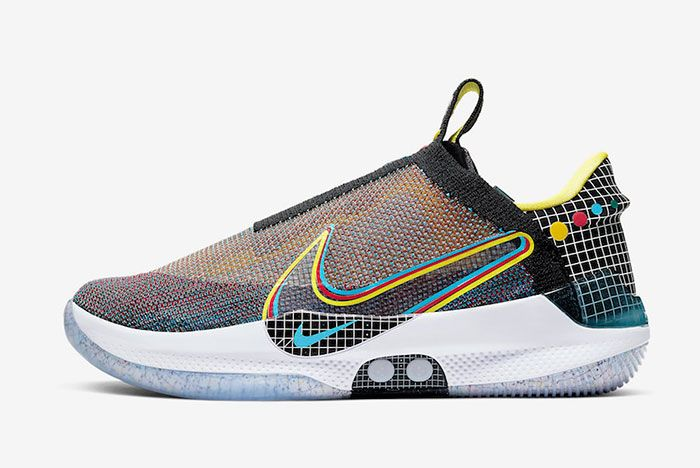 Nike Adapt Bb Multi Color Ao2582 900 Lateral